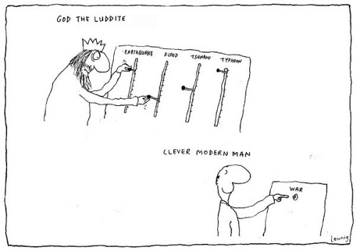 Cartoon by Michael Leunig, The Age, 9th Oct 2009