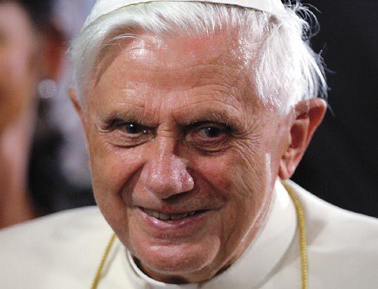 Pope Benedict Scary Mi...