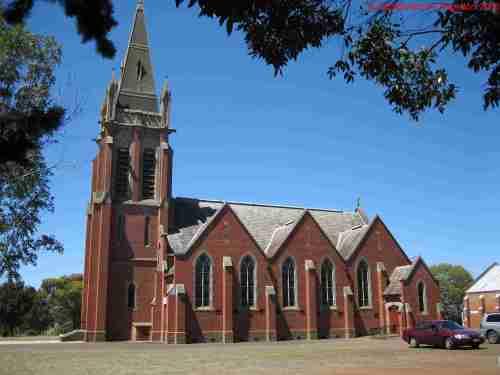 """The beautifully named """"Hochkirche"""", Tarrington, Victoria"""